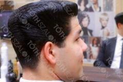 Szandra munkája férfi hajon